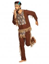 Viisaan intiaanin naamiaisasu miehelle