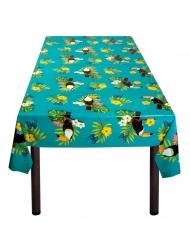 Tukaanit- muovinen pöytäliina 130 x 180 cm