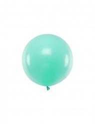 Lateksinen mintunvihreä ilmapallo 60 cm