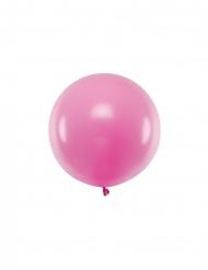 Jättimäinen fuksianvärinen ilmapallo 60 cm