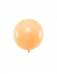 Jättimäinen persikanvärinen ilmapallo 60 cm