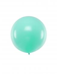 Jättimäinen lateksinen ilmapallo, minttu 1 m
