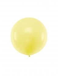 Jättimäinen keltainen ilmapallo 1m