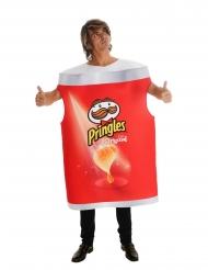 Pringles™-naamiaisasu punainen aikuiselle