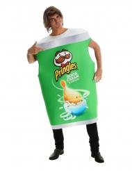 Pringles™-naamiaisasu vihreä aikuiselle