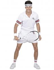Tenniksen pelaajan naamiaisasu aikuiselle