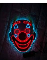 Hullun klovnin LED-naamari aikuiselle