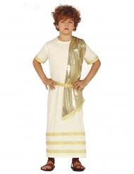 Valkoinen roomalainen naamiaisasu pojalle