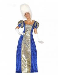 Sinisen markiisittaren naamiaisasu naiselle
