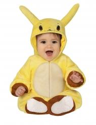Keltainen sähkömonsteri-asu vauvalle