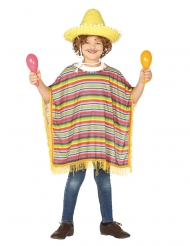 Meksikolainen poncho lapselle