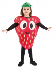 Pieni mansikka-asu lapselle