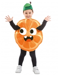 Pieni appelsiini-asu lapselle