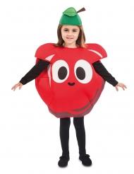 Punainen omena-naamiaisasu lapselle