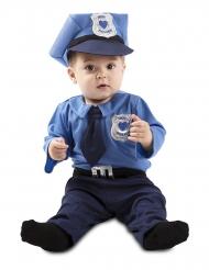 Poliisiagentin naamiaisasu vauvalle