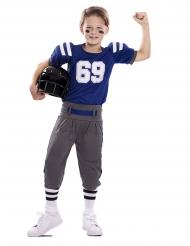 Jalkapallon pelaajan asu lapselle