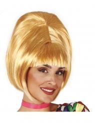 Vaalea 60-luvun peruukki naiselle