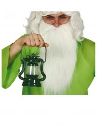 Vihreä lyhty valolla 17 cm