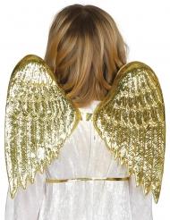 Kullanväriset enkelin siivet lapselle