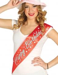 Happy Birthday- olkanauha aikuiselle