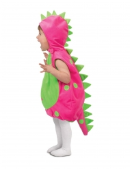 Vaaleanpunaisen dinosauruksen naamiaisasu vauvalle