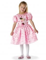 Klassinen vaaleanpunainen Minni™-naamiaisasu tytölle