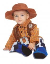 Cowboy- naamiaisasu vauvalle
