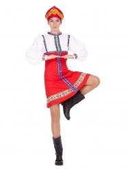 Venäläinen tanssija-naamiaisasu naiselle