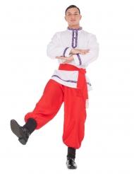Perinteinen venäläinen tanssija-asu miehelle