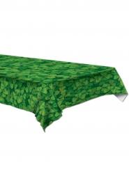 Vihreä pöytäliina apiloilla 137 x 274 cm