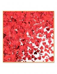 Punaiset sydämet- pöytäkonfetit 14 g