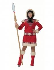 Eskimon naamiaisasu naiselle