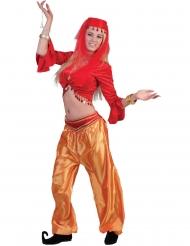Punaisen tanssijattaren toppi naiselle