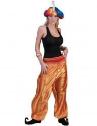Tanssijan kullanväriset housut naiselle