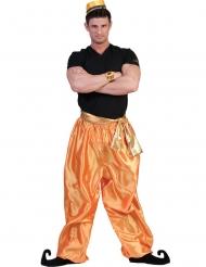 Kullanväriset tanssijan housut miehelle