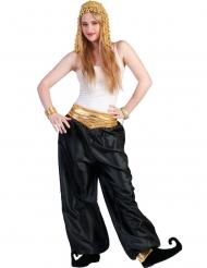 Mustat tanssijan housut naiselle