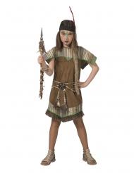 Ruskea intiaaniasu tytölle