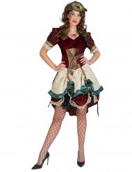Steampunk seikkailijan-mekko naiselle
