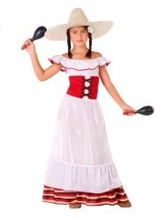 Meksikolaisen naisen asu tytölle