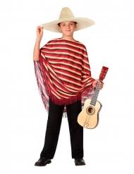 Meksikolainen ponchoasu pojalle