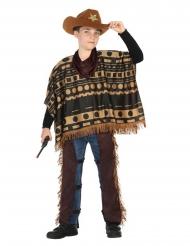 Cowboy-poncho pojalle