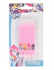 My Little Pony™-synttärikynttilät 9 cm 4 kpl