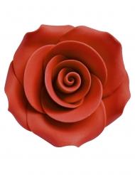 Punaiset koristeruusut 2,5 cm 8 kpl