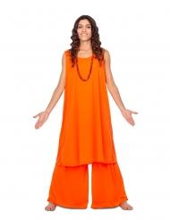 Oranssi opetuslapsen asu naiselle
