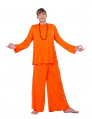 Oranssi opetuslapsen asu miehelle