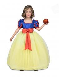 Sinikeltaisen tanssijaisprinsessan mekko tytölle