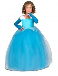 Tanssijaisten prinsessan sininen asu tytölle