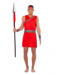 Punainen Massaï-asu miehelle
