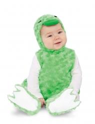 Vihreä ankka-asu lapselle