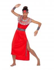 Punainen Massai-asu naiselle